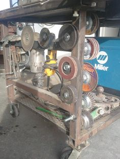 Viewing a thread - Welding Table Ideas