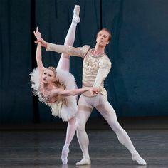 NYCB's Sara Mearns and Ask LaCour in Balanchine's 'Diamonds' - photo © Paul Kolnik