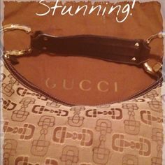GUCCI HORSEBIT MONOGRAM HOBO BAG- GORGEOUS!!! MINT This 100% authentic Gucci canvas brown monogram logo hobo bag looks to be new without tags. This bag is in excellent condition including the hardware with no visible signs of wear no rips no stains. Excellent!!!!! Comes with dust bag. Gucci Bags Hobos