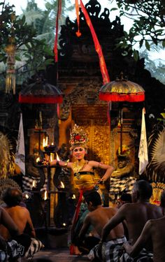 Kecak and fire dance, Bali
