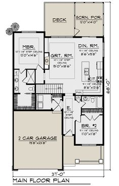 Things To Keep In Mind Before Considering Home Renovation Contract – Home Dcorz House Plans 2 Story, Narrow Lot House Plans, Small House Floor Plans, Lake House Plans, Garage House Plans, Craftsman Style House Plans, Ranch House Plans, Best House Plans, Dream House Plans