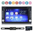 "2 DIN 6.2"" GPS Navigation In Dash Car Stereo DVD Player Bluetooth iPod Camera"
