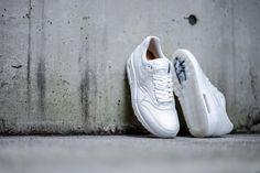 quality design 139b8 961fe Nike - Air Max 1 Deluxe White Nike Shoes, White Nikes, Air Max 1