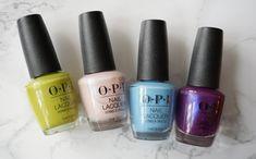 Opi Blue Nail Polish, Nail Polish Blog, Summer Nail Polish, Nail Polish Brands, Summer Nails, Local Nail Salons, Opi Collections, Cool Undertones, Nail Polish Collection