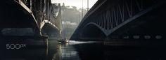 Under the bridges - Lyon (Confluence) - France 2016