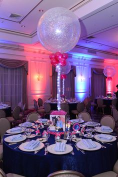 MY FAVORITE BY FAR!! Horse Themed Bat Mitzvah with Photo Cube Centerpieces & Sparkle Balloons