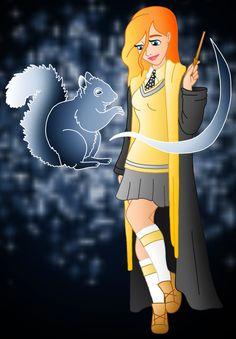 Disney Hogwarts students: Giselle by ~Willemijn1991 on deviantART