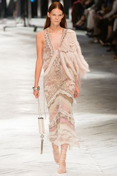 Roberto Cavalli Spring 2014 Ready-to-Wear Fashion Show - Irina Kravchenko