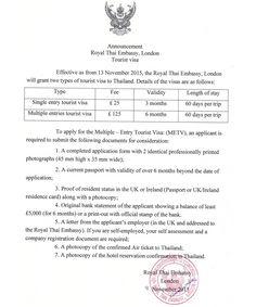 METV Requirements for UK Passport Holders