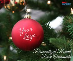 Flatter your audience with personalized round disk ornaments! #christmasornaments #christmasdecor #holidaygifts #customholidaygifts #christmas #decor Unique Christmas Gifts, Holiday Gifts, Holiday Decor, Christmas Bulbs, Christmas Decorations, Free Design, Xmas Gifts, Christmas Light Bulbs, Christmas Decor