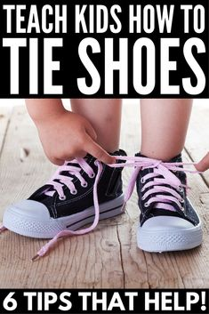 Tie shoes kids - How to Teach a Child How to Tie Their Shoes 6 Shoe Tips That Work – Tie shoes kids How To Tie Shoes, Your Shoes, Math For Kids, Activities For Kids, Motor Activities, Educational Activities, Teaching Kids, Kids Learning, Coaching