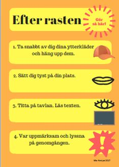 Picture Classroom Activities, Classroom Decor, Activities For Kids, Middle School, Back To School, Learn Swedish, Swedish Language, Teaching Quotes, Kids Class