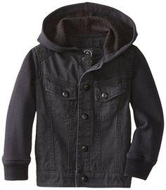 Volcom Little Boys' Stomper Jacket, Black, 2T