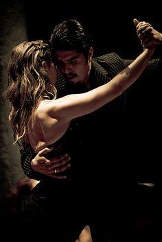 Lucia & Donato - tango dancers by Métempsycose, via Flickr