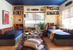"""Having spent many years pining for her own space at the beach, Sofie Howard—photographer agent and owner of Los Angeles–based Commune Images—finally found it at Paradise Cove Mobile Home Park in Malibu where, adjacent to the most preternaturally local private beach in town, even single-wides have been known to go for exorbitant prices. """"I've been surfing here my whole life,"""" Howard says, """"and I had always thought, 'someday, someday.'"""" Two years ago, she found the """"dinkiest, cheapest, ..."""