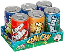 Soda Can Fizzy Candy.  A Kid's Favorite.