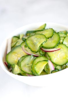 Tangy Cucumber Salad Recipe