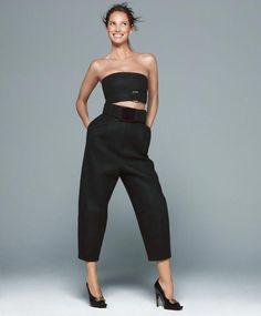 Christy Turlington, Harper's Bazaar June July 2013