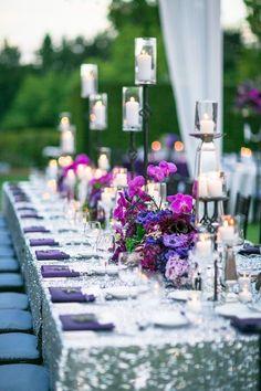 Fioletowe inspiracje na ślub i wesele
