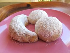 This authentic recipe for Rena Carasso's Kourabiedes, aka Greek Butter Cookies, appears in the Holocaust Survivor Cookbook. Kosher, Dairy.
