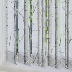 Woodland Silver Birch Vertical Blind Replacement Slats in Grey/Brown/Multicoloured. This Vertical Blind Replacement Slats includes guarantee and child safety features. House Blinds, Blinds For Windows, Vertical Blinds Replacement Slats, Best Blinds, Budget Blinds, Roller Blinds, Grey Walls, Conservatory, Brown And Grey