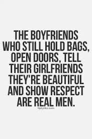 But there seem to be an shortage on decent guys...
