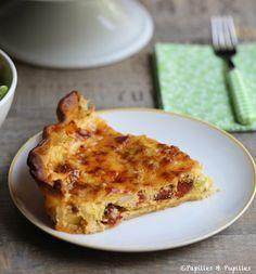 Tarte aux poireaux ricotta chorizo - Recette /  Leek, Ricotta and chorizo pie - Recipe