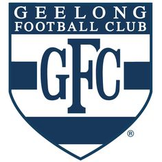 Club logo of Australian rules football team, Geelong from the state of Victoria, playing in AFL. Australian Football League, Cat Character, Motorcycle Clubs, Great Team, Football Team, Cats, Cartoon Characters, Squad, Gatos