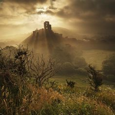 Corfe Castle, Purbeck Dorset @NTCorfeCastle