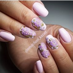 For the romantic girls such variant of nail art can be recommended. It makes them irresistible. A soft pink hue ...