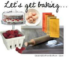 Let's get baking by sarahcredman featuring a wooden rolling pin I'm a firm believer in giving something back to society. Whether it's your time, money or even just a warm smile. You never kn...