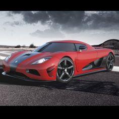 Rapid Red Koenigsegg Agera VROOM!
