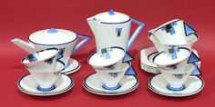 shelley art deco china - Google Search