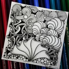 Zentangle 122916. All artworks are from Rebecca Kuan - @rebeccasecretbox Welcome to visit my FB Page: http://www.facebook.com/Rebecca.Zentanglebox/ #zentangle #zendoodle #doodle #doodleart #draw #drawing #tangle #art #sketch #artwork #zentangleart #zentangleinspiration #learnzentangle #zenart #hearttangles