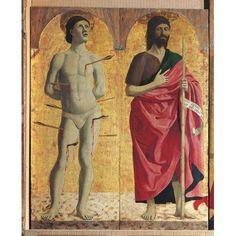 Polyptych Of The Misericordia (Or Virginn Of The Mercy) Canvas Art - (18 x 24)