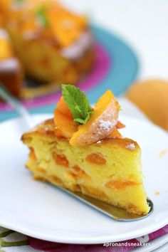 Apron and Sneakers - Cooking & Traveling in Italy: Apricot & Mascarpone Cake and San Vito di Cadore, Dolomites