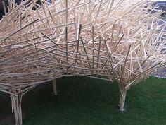 trees as huge art installation by wunderwesen, via Flickr