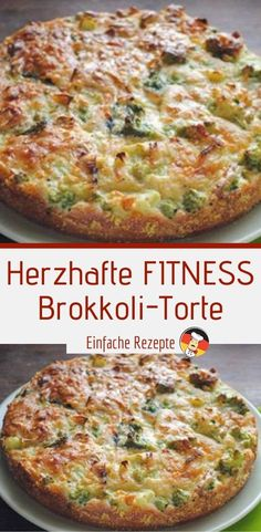 clean eating results Herzhafte FITNESS Brokkoli-Torte Healthy Soup Recipes, Low Calorie Recipes, Diet Recipes, Healthy Foods, Healthy Lunches, Recipes Dinner, Clean Eating Soup, Clean Eating Recipes, Law Carb