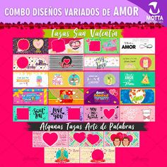 Diseños-plantillas-tazas-mug-sublimacion-san-valentin-dia-enamorados-amistad-love Mug Designs, Modern Living, Love, Mugs, Frame, Etsy, Decor, Living Room, Happy Love
