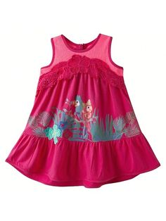 Catimini Sportswear Papukaija mekko