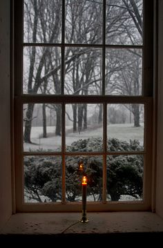 by Matt Champlin Happy Solstice And snow Winter Szenen, I Love Winter, Winter Magic, Winter Christmas, Merry Christmas, Happy Solstice, Photo D Art, Christmas Aesthetic, Window View