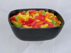 Bowl of Mike and Ike - Just Dough It Fake Foods