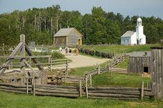 Acadian Historical Village in Caraquet - New Brunswick, Canada