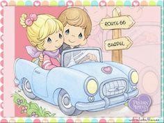 Dibujos coloreados preciosos momentos-Imagenes y dibujos para imprimir