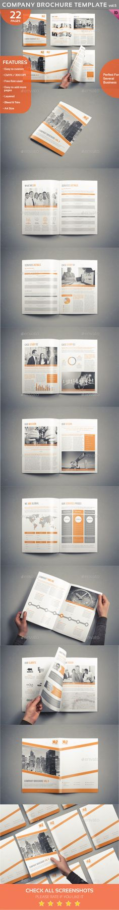 Interior Design Square 3-Fold Brochure V08 Brochures, Brochure - company brochure templates