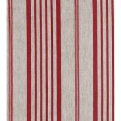 Jolly Stripe Red Fabric