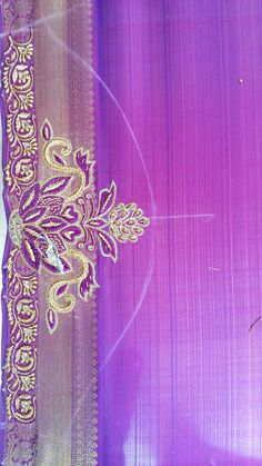 Simple Embroidery, Embroidery Designs, Embroidery Blouses, Hand Designs, Flower Designs, Sleeve Designs, Blouse Designs, Maggam Work Designs, Kutch Work