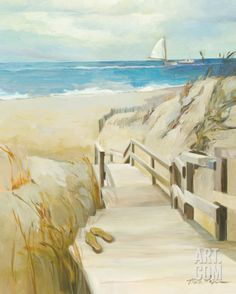 Coastal Escape Print by Marilyn Hageman.