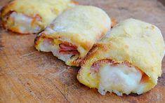 Cannoli di patate prosciutto e mozzarella sfiziosi