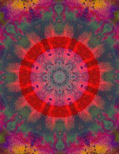 Mandala's inkleuren geeft ontspanning, doordat je je actief richt op het hier-en-nu.